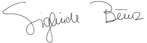 Sieglinde Bunz Unterschrift